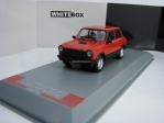 Autobianchi A112 Abarth 1979 Red 1:43 White Box WB241